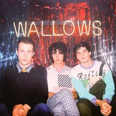 wallows Poster Music 'wallows' Poster by Bedroom Wall Collage, Photo Wall Collage, Picture Wall, Room Posters, Band Posters, Poster Wall, Poster Poster, Movie Posters, Cool Album Covers
