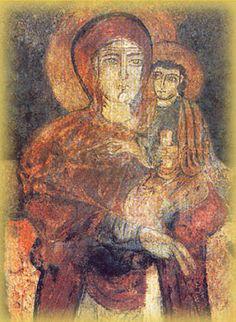 icona della Madonna Achiropita, dal greco, non dipinto da mano umana