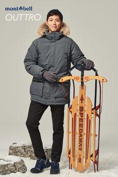 박보검 161125 몽벨 헤비 야상 다운 자켓   [ 출처 http://blog.naver.com/montbell1/220870753490 ]