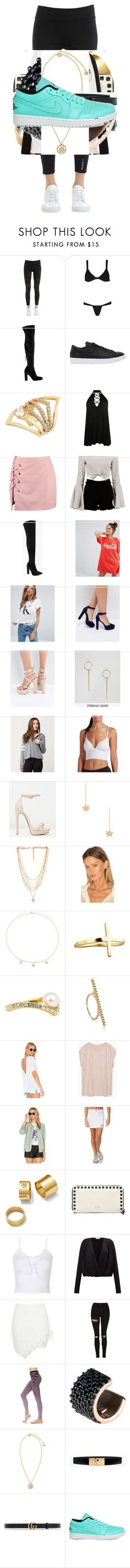 """Untitled #2099"" by bucketlistdiary on Polyvore featuring Reebok, Voi Sola, Steve Madden, NIKE, Maria Francesca Pepe, Boohoo, ASOS, Calvin Klein, Truffle and Full Tilt"