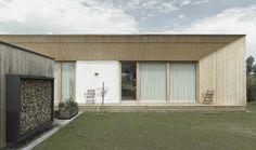 Straw-bale house in Dornbirn, Austria, by Georg Bechter Architektur und Design