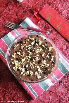 15 ideas chocolate mousse recipe no eggs Eggless Desserts, Eggless Recipes, Eggless Baking, Custard Recipes, Pudding Desserts, Easy Desserts, Dessert Recipes, Eggless Pudding Recipe, Vegetarian Desserts