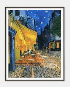 The Café Terrace on the Place du Forum by by FinestClassicArt