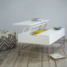 west elm storage coffee table - Storage solutions on #redsoledmomma.com