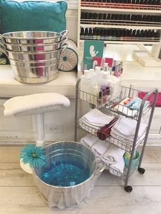 Pedicure Storage Gets Smart - Nails Magazine