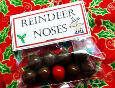Reindeer noses for classroom/girl scouts