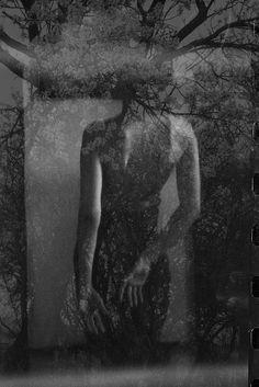 Photographie, film 24x36, 35mm dans les gens, Portrait, Femme, Pentax ME super 50mm, double exposer - Image # 497570 / Maintenant coup et Ségovie par Katia Chausheva
