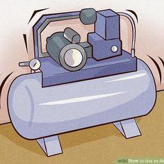 Compressed Air, Gasoline Engine, Air Compressor, Electric Motor