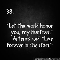 Percy Jackson Quotes zoe nightshade and artemis