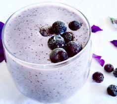 Bluberry smoothie. (mirtilo)