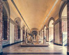 Le Louvre by Frack Bohbot The Louvre Project began with a carte blanche commission by Le Musée du Louvre, Paris in Palais Des Tuileries, Louvre Paris, Sully, France, Adventure, Mansions, Architecture, House Styles, Places