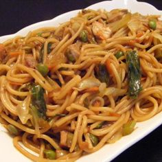 Chicken Lo Mein With Vegetables Recipe