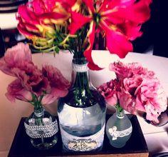 É s´escolher a flor de sua preferência para dar um charme especial!