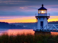Maine, Doubling Point Lighthouse, USA Photographic Print by Alan Copson at AllPosters.com