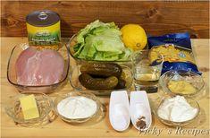 Salată cu paste, piept de pui și porumb – Vicky's Recipes Dairy, Cheese, Food, Salads, Essen, Meals, Yemek, Eten