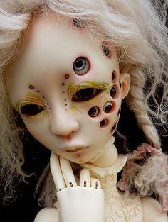 Fantasy | Whimsical | Strange | Mythical | Creative | Creatures | Dolls | Sculptures | ☥ | Shehariah Lacrymosa and Kameko