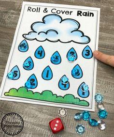 Weather Activities Preschool, Preschool Lessons, Spring Activities, Preschool Learning, Preschool Activities, Preschool Weather Chart, Math Lessons, Weather Lessons, Weather Unit