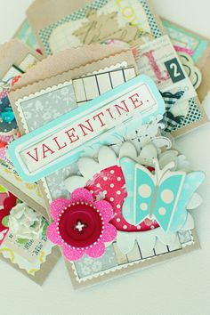 gorgeous valentines by Christine Middlecamp