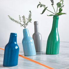 Not So Straight Bottle Vase