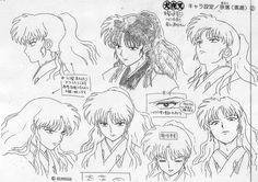 Rumiko Takahashi, Sunrise (Studio), Inuyasha, Naraku , Character Sheet
