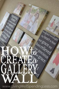 Want to completely transform a room in your home without breaking the bank? An artfully arranged collection of photos or art can add life to an otherwise dull space, and it's not as hard as you might think! Don't miss these six simple steps for creating a gallery wall that you love!