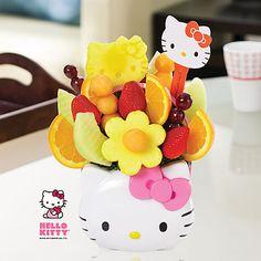HK |❣| HELLO KITTY Friendship Bouquet Fruit Basket by Edible Arrangements®