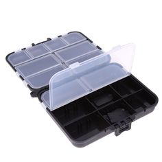Portable Multi-Purpose Fishing Lure Spoon Hook Bait Tackle Waterproof Plastic Storage Box with 26 Compartments pesca acesorios - Tackle Shop Carp Fishing Tackle, Fly Fishing Lures, Fishing Tackle Box, Bait And Tackle, Fishing Tools, Trout Fishing, Fishing Tricks, Ice Fishing, Spoon Hooks
