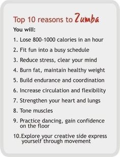 Zumba is taking people by storm! Try it you won't regret it!