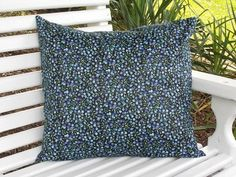Indoor Pillow Cover  Loose Fit  18 x 18 100 by InFullBloomCo, $19.00