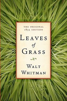 Leaves of Grass, the original 1855 version (and the best version), by Walt Whitman.   To behold the day-break! The little light fades the immense and diaphanous shadows, The air tastes good to my palate.