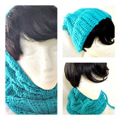 Hat Hoodie and Cowl / Three in One  by MarieHolmanDesigns, $35.00 USD