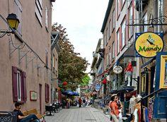 La rue le Petit Champlain 2015 Image Aujourd'hui