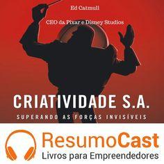 Criatividade S.A. resumido em audio. www.resumocast.com.br