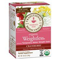 Traditional Medicinals Teas Organic Weightless Tea Cranberry 16 Bags Pack of 2 ** Continue to the product at the image link. Note: It's an affiliate link to Amazon.