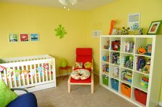 Our Monster Nursery all finished! Thank you ikea, Land of Nod, Babies R Us, Amazon and Etsy!