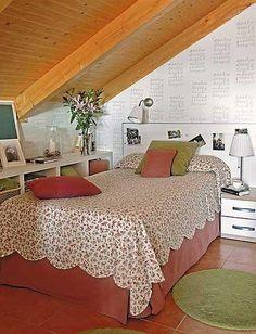 40 Quartos lindos no sótão - Decoração e Ideias Casa