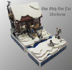 Lego Christmas Village, Lego Winter Village, Casa Lego, Lego Jewelry, Lego Boards, Lego Trains, Lego Blocks, Lego Modular, Lego Castle
