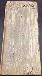 Faux barn wood planks made with mdf and Maison Blanche products - Patina Home