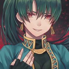 Painted an evil Lyndis Fanart Ψ(`∀´#)ノ : FireEmblemHeroes
