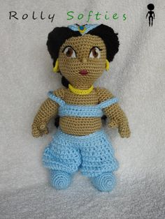 Disney principessa Jasmine schema gratis amigurumi free pattern