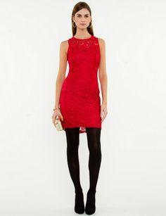 robe rouge @Le Chateau