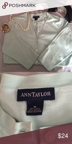Ann Taylor 3 quart soft cardigan. Never worn Ann Taylor Sweaters Cardigans