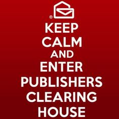 Keep Calm Publishers Clearing House
