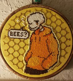 Hand Stiching, Pixel Art Background, Embroidery Bracelets, Underswap, Last Stitch, Cross Stitches, Crochet Crafts, Outline, Kids Rugs