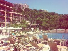La piscina de #palasiet en #castellonmediterraneo