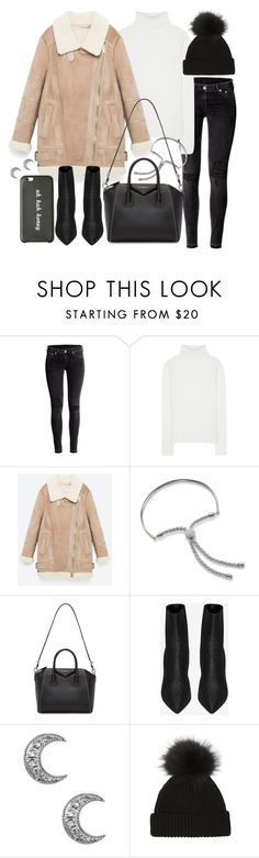 """""""Untitled #20423"""" by florencia95 ❤ liked on Polyvore featuring H&M, Chloé, Monica Vinader, Givenchy and Yves Saint Laurent"""