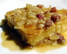 Tortilla guisada en salsa