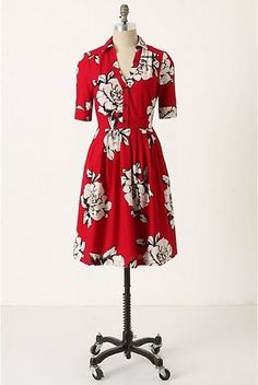 Anthropologie Maeve Dagmar Shirtdress 4   eBay