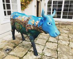 Art, Smetana Hotel Prague, Piggy Bank, Unique Art, Cow, Moose Art, Instagram Posts, Animals, Animales, Money Box