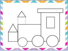Ideas para preescolar Kindergarten Math Worksheets, Fun Worksheets, Preschool Lessons, Math Resources, Preschool Activities, Art Drawings For Kids, Drawing For Kids, Community Helpers Preschool, Learning English For Kids